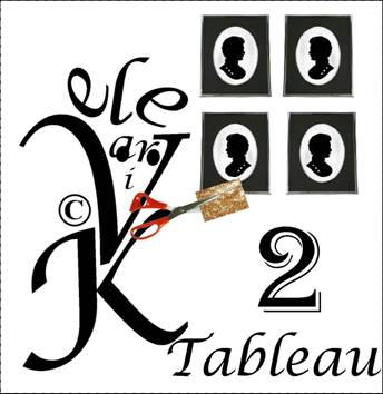 Tableau 4 sets de tables