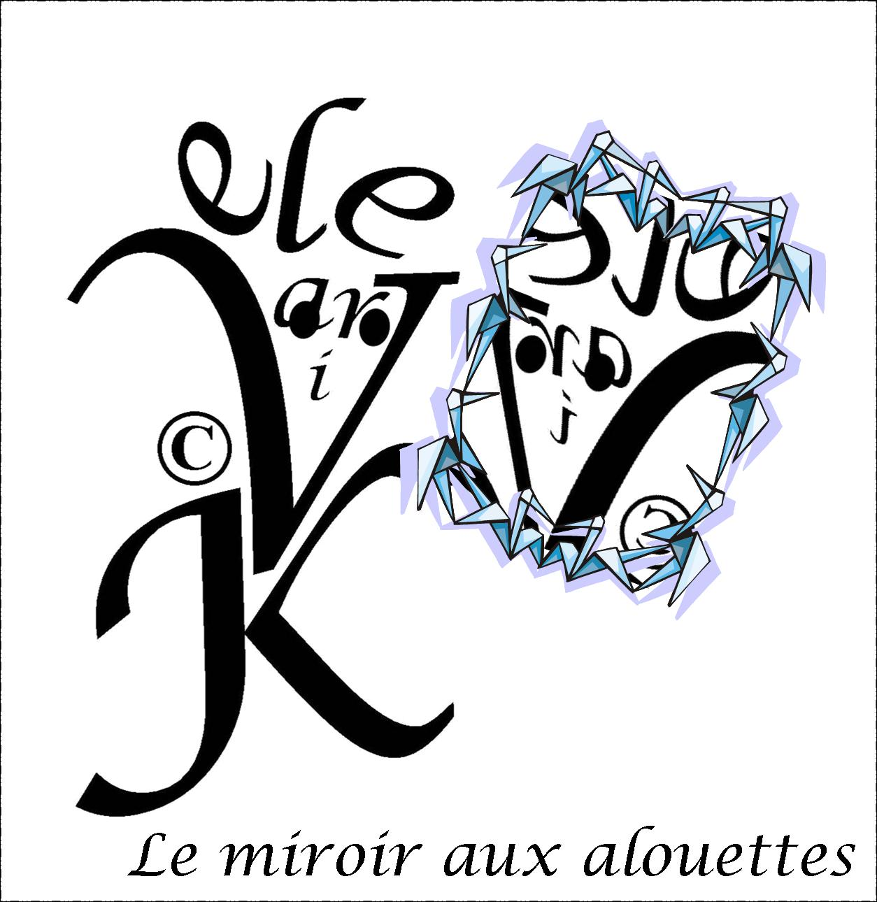Original works by valerie kulig for Miroir aux alouettes